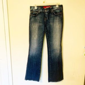 Guess SweetHeart Flare stretch Jeans sz 30